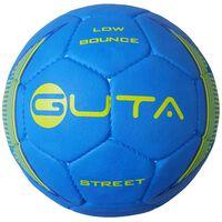 GUTA Lowbounce Straßenfußball Ball Blau Größe 3,5