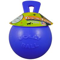 Jolly Pets Ball Tug-n-Toss 10 cm Blau