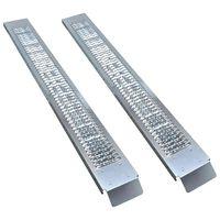 vidaXL Auffahrrampen aus Stahl 2 Stk. 450 kg