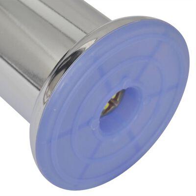 vidaXL Runde Sofabeine 8 Stk. Chrom 60 mm