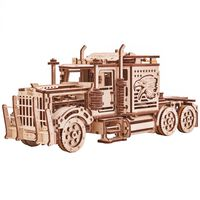 Wood Trick Modellbausatz Holz Sattelschlepper