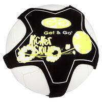 Get & Go Fussball-Trainingsgerät Schwarz und Gelb