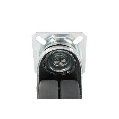 vidaXL 32 Stk. Zwillings-Lenkrollen 50 mm