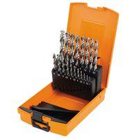 Beta Tools 19-tlg. Spiralbohrer-Set 412/SP19 Stahl 004120419