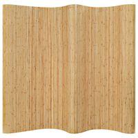 vidaXL Raumteiler Bambus 250×195 cm Natur