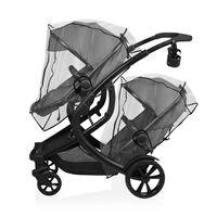 Baninni Regenabdeckung für Zwillingskinderwagen Doppy