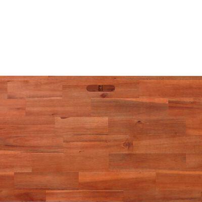 vidaXL Garten-Hochbeet Akazienholz 100x100x50 cm