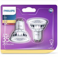 Philips LED-Lampen 2 Stk. Classic 3,5 W 255 Lumen 929001217831