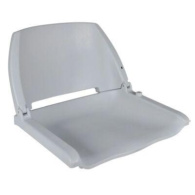 vidaXL Bootssitze 2 Stk. Klappbare Rückenlehne ohne Kissen 41x51x48 cm