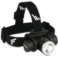 FAVOUR Stirnlampe PROTECH Schwarz H1217
