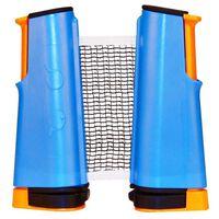 Get & Go aufrollbares Tischtennis-Netz Kobaltblau/Orange/Schwarz 61TT