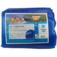 Summer Fun Sommer Poolabdeckung Solar Rund 500 cm PE Blau