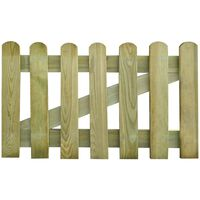 vidaXL Gartentor Holz 100x60 cm