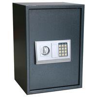 vidaXL Elektronischer Digital-Safe mit Regal 35x31x50 cm