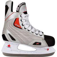 Nijdam Eishockey Schlittschuhe Gr. 45 Polyester 3385-ZZR-45