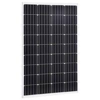 vidaXL Solarmodul 120 W Monokristallin Aluminium und Sicherheitsglas